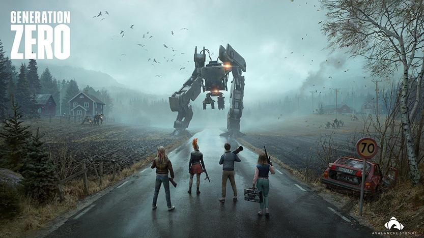 Generation Zero : Test du jeu de survie face à des robots hostiles