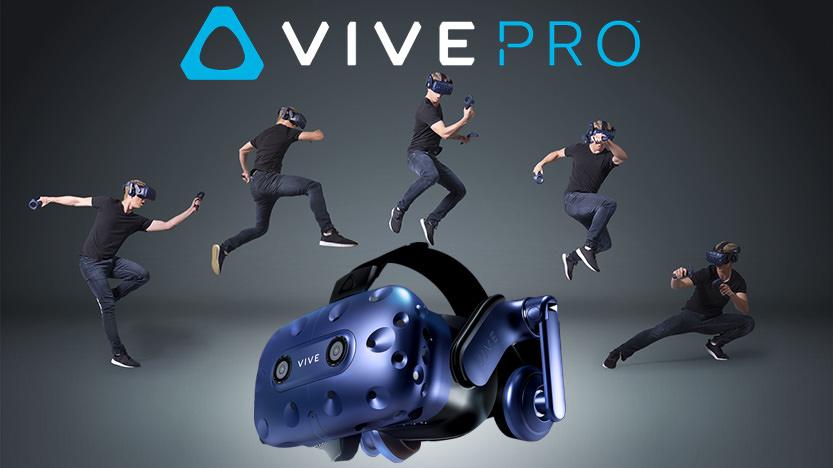 HTC Vive Pro : J'ai testé le nouveau casque VR, mes impressions