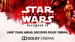 J'ai vu Star Wars 8 en Dolby Cinema. Spoil : du grand spectacle !