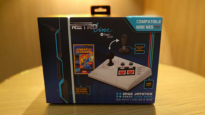 Joystick Steelplay Edge : Un stick arcade pour la Mini Nes Nintendo