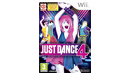Just Dance 4 et Just Dance 3 à 20 EUR