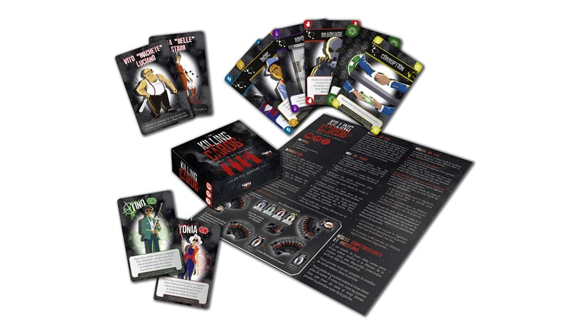Killing cards - Mafia : un seul survivra