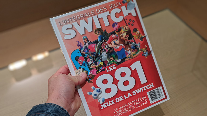 L'integrale des jeux Nintendo Switch