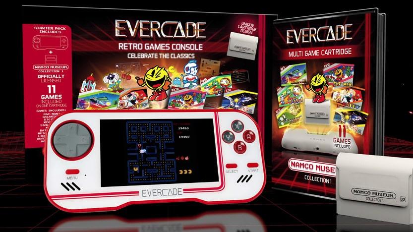 La console retro Evercade est disponible
