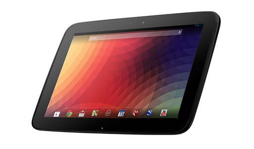 La Nexus 10 : petit tour face à la concurrence.