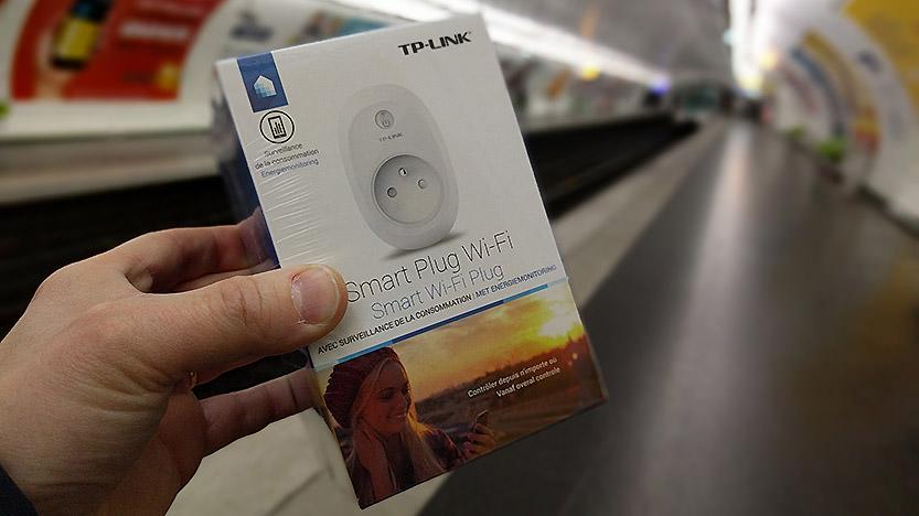 La prise intelligente Smart Plug Wi-Fi avec mesure de la consommation