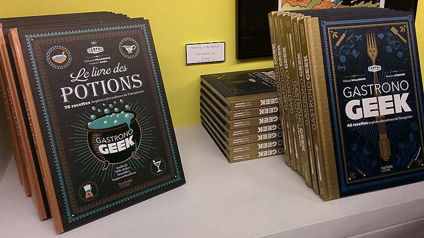 La soirée de lancement de Gastronogeek - Le Livre des Potions