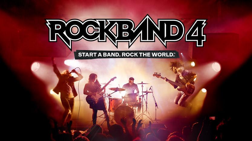 La soirée de lancement de Rock Band 4