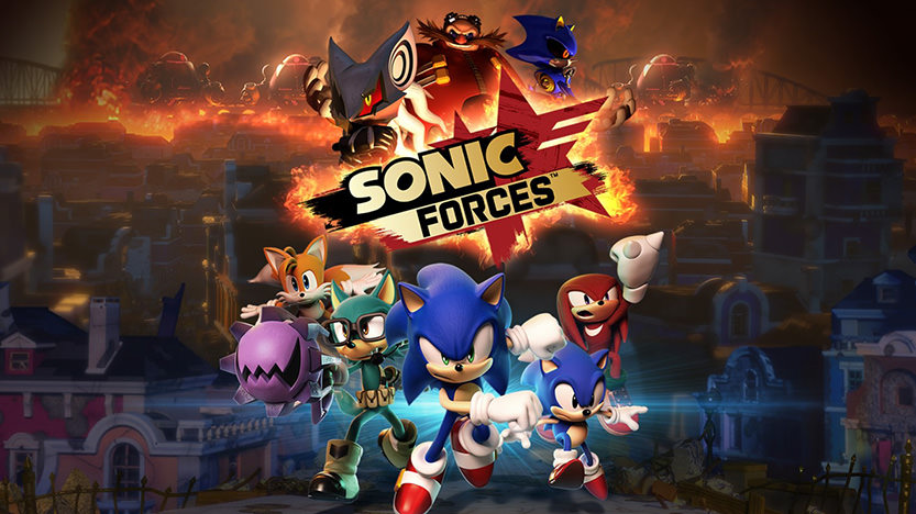 Le test de Sonic Forces sur Switch