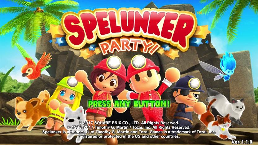 Le test de Spelunker Party : un hommage très fidèle au retrogaming