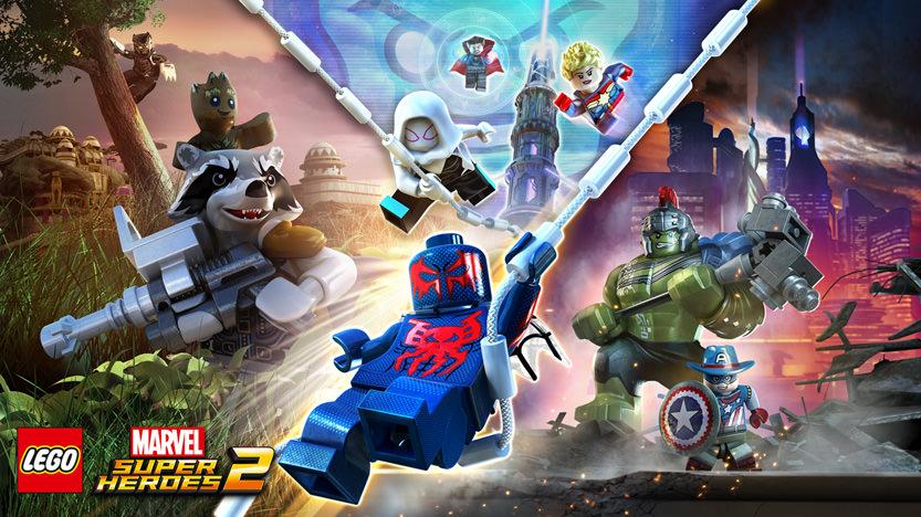 Aperçu du jeu Lego Marvel Super Heroes 2, développé par TT Games et édité par Warner Bros