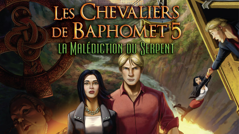 les chevaliers de baphomet la malédiction du serpent pc