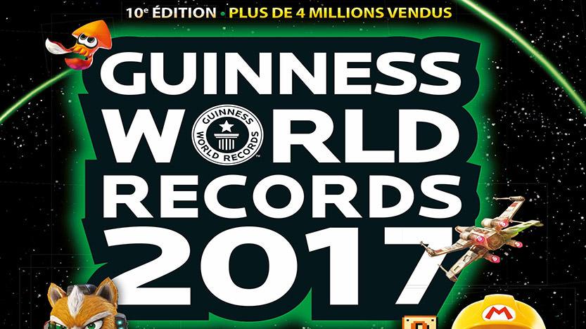 Livre Guinness des records dédiés aux jeux vidéo
