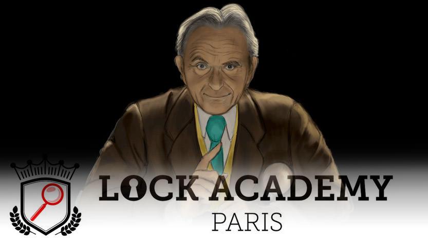 Lock Academy : Très Cher Lock. Une enquête dont vous êtes le héros