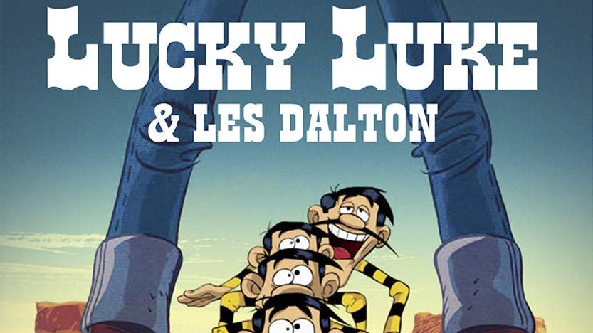 Lucky Luke et les Dalton