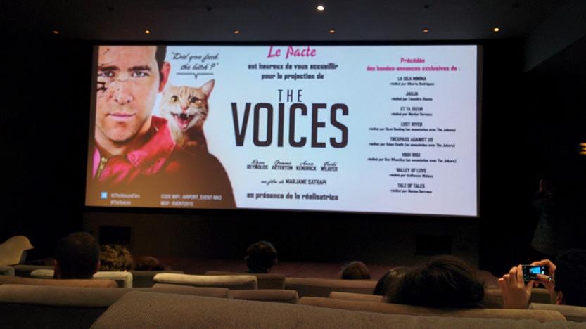 Master class avec Marjane Satrapi pour The Voices