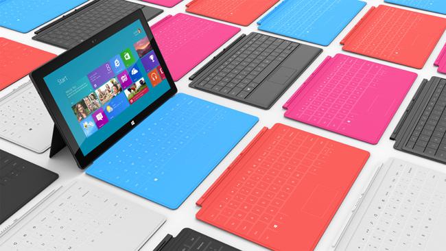 Microsoft présente sa propre tablette : surface
