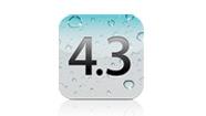 Mise à jour iOS 4.3 pour iPhone, iPad et iPod Touch