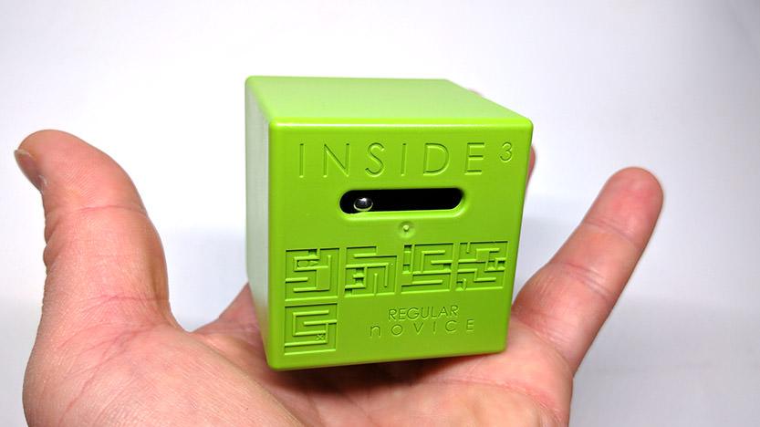 Mon avis sur INSIDE3, le cube labyrinthe 3D
