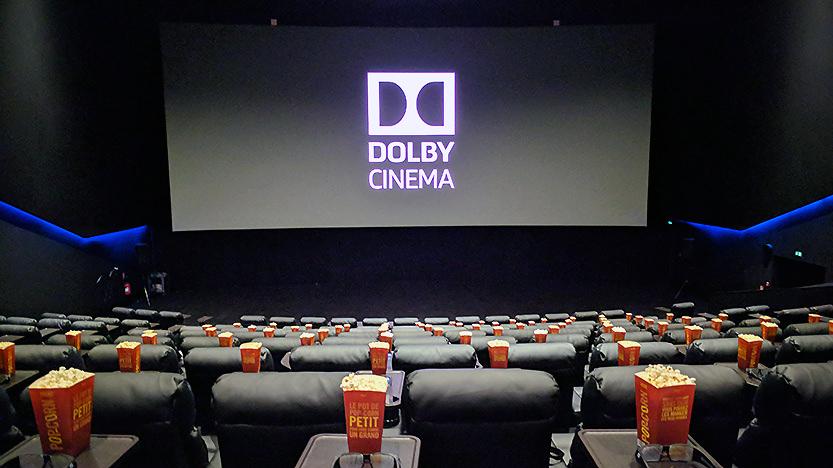 La première salle de Cinema Dolby Cinema
