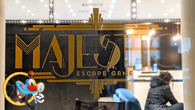 Mon avis sur le jeu d'évasion Oggy et les Cafards chez Majestic Escape Game