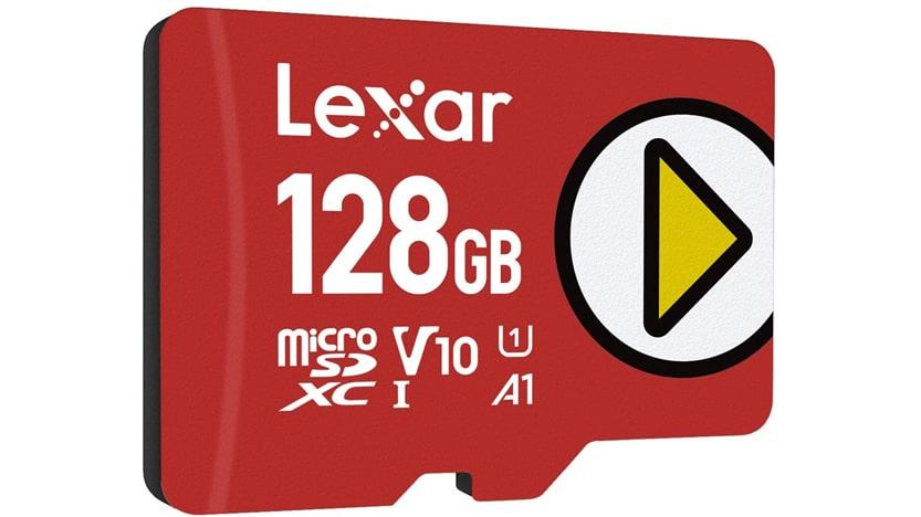 Carte UHS-I Lexar Play microSDXC 256 Go