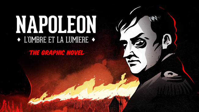 Napol�on l'ombre et la lumi�re #graphicnovel #napoleon