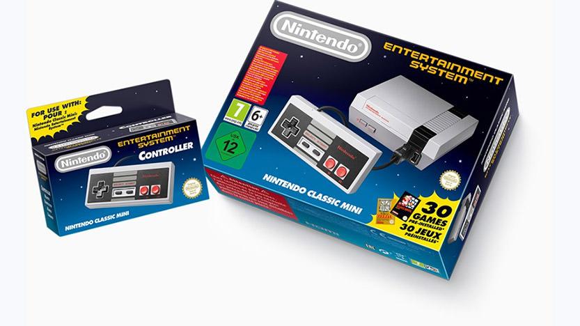 Nintendo Classic Mini : la nouvelle console Nintendo
