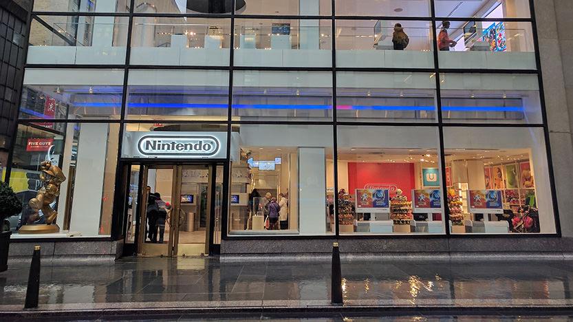 Boutiques Nintendo