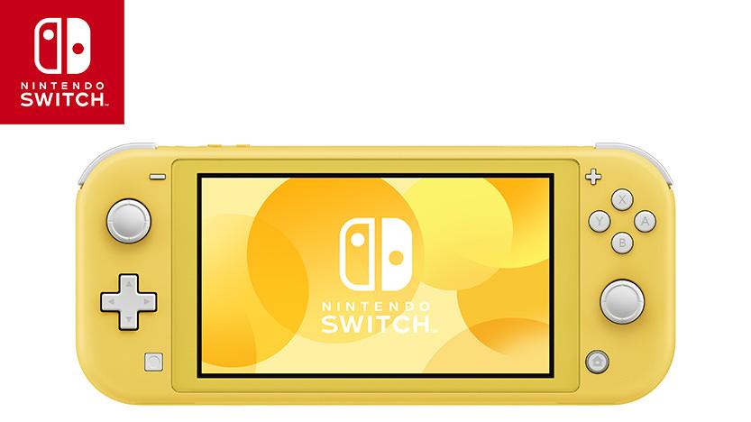 Nintendo Switch Lite : Premier aperçu de la console avec Nintendo