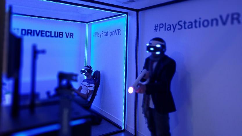 Nouveau test du casque Sony au PlayStation VR Experience