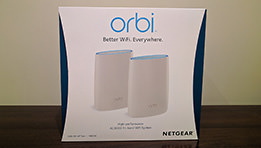 ORBI by NETGEAR Unboxing du pack