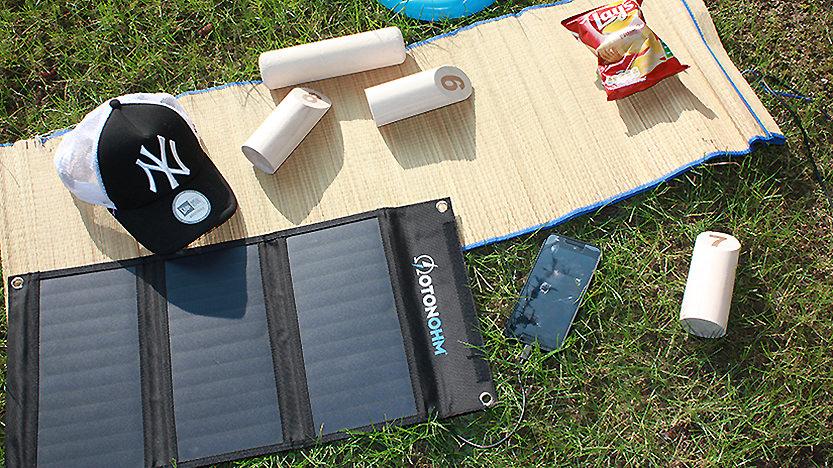 Otonohm Sun Charge recharge vos portables avec l'énergie solaire