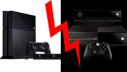 Playstation 4 : 399 € / Xbox One : 499 €