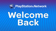 Playstation Network : Welcome back