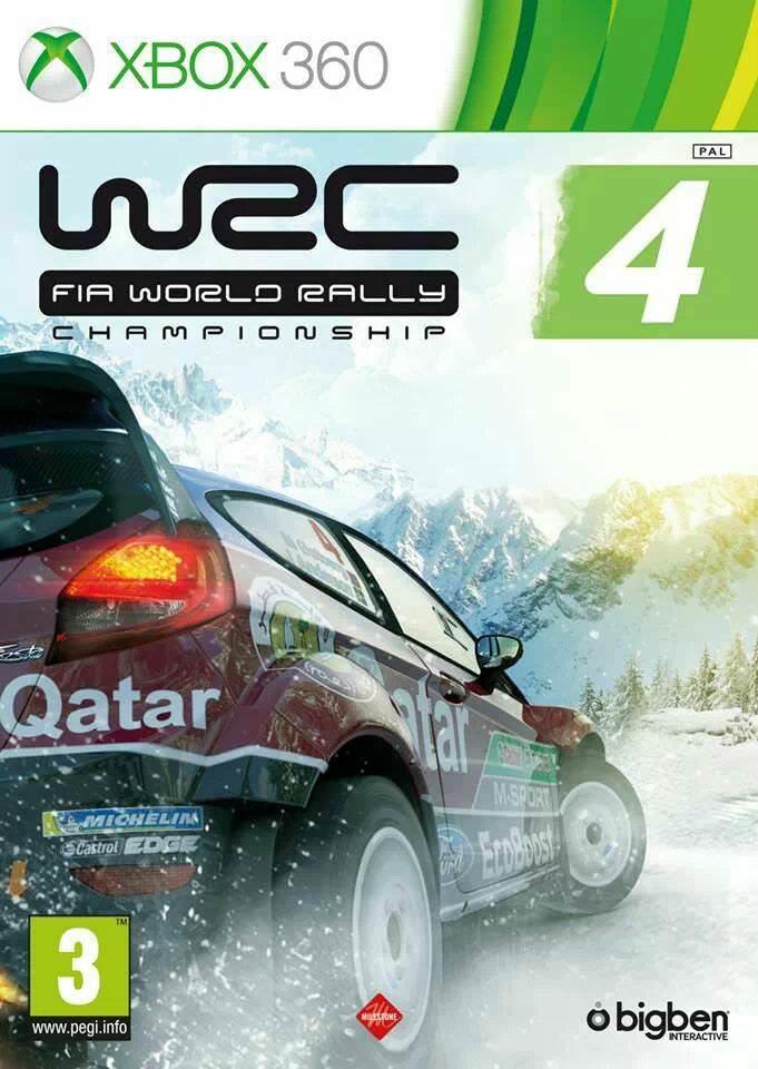 Preview WRC4 sortie prévue le 25 Octobre