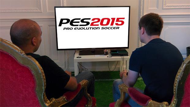 Nous avons joué à PES 2015 sur PlayStation 4