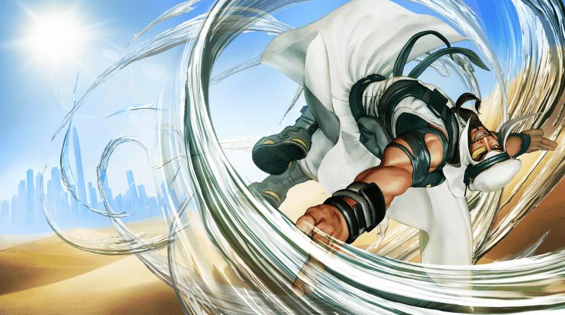 Rashid, le nouveau personnage de Street Finghter V un mixte entre Guy, Cody et Yang