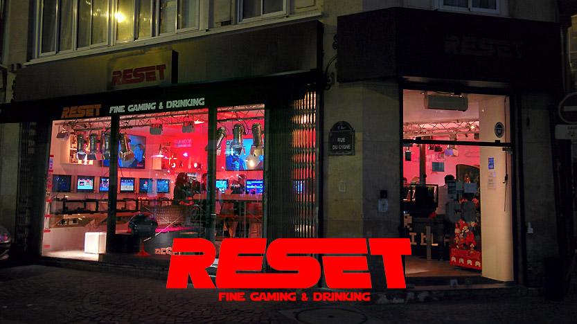 Reset bar : une nouvelle chaîne de bars avec du retrogaming