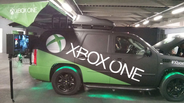 Retour sur l'évènement Xbox One : Xbox Area One Paris