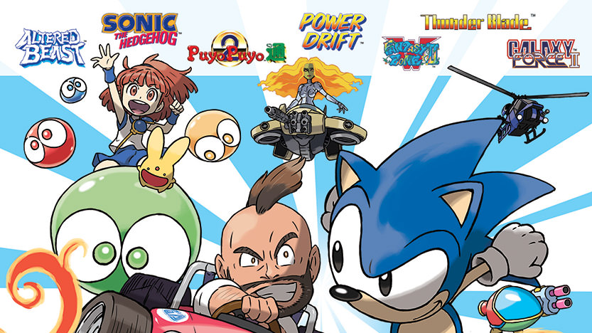 Le test de Sega 3D Classics Collection sur Nintendo 3DS