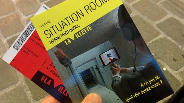Situation Rooms - Collectif Rimini Protokoll
