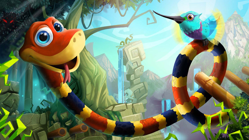 Snake Pass sur Switch