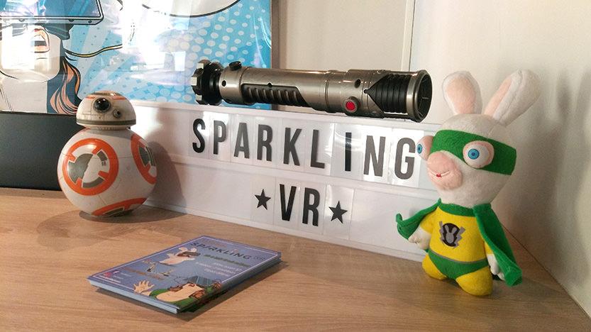 Sparkling VR, une salle de jeux vidéo de réalité virtuelle