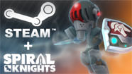 Spiral Knights disponible sur Steam