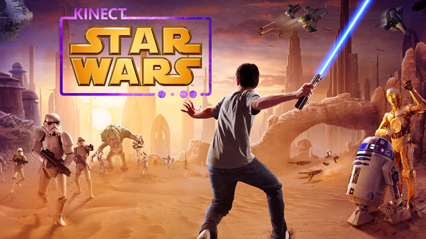Star Wars Kinect prise en main