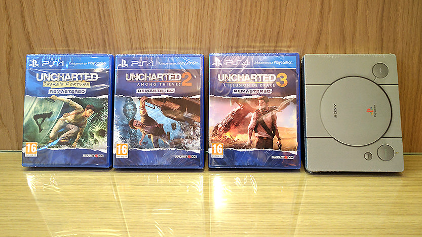 Steelbook Edition Anniversaire 20 ans Playstation - Uncharted