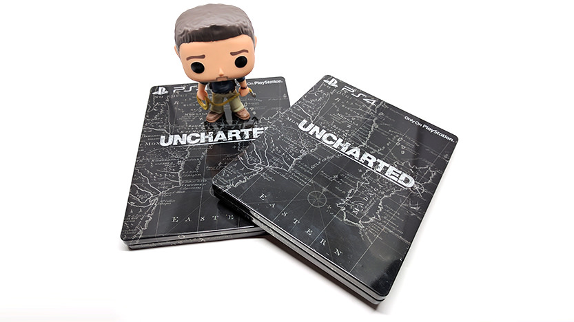 Steelbook PS4 Uncharted Black
