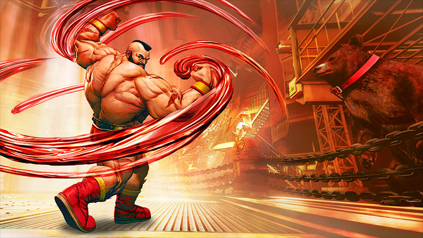 Street Fighter V : Zangief revient en force