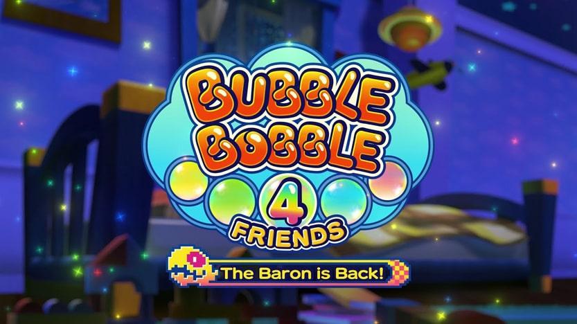 Test Bubble Bobble 4 Friends: The Baron Is Back! Une bulle de nostalgie